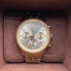Michael Kors Gold Watch Women's